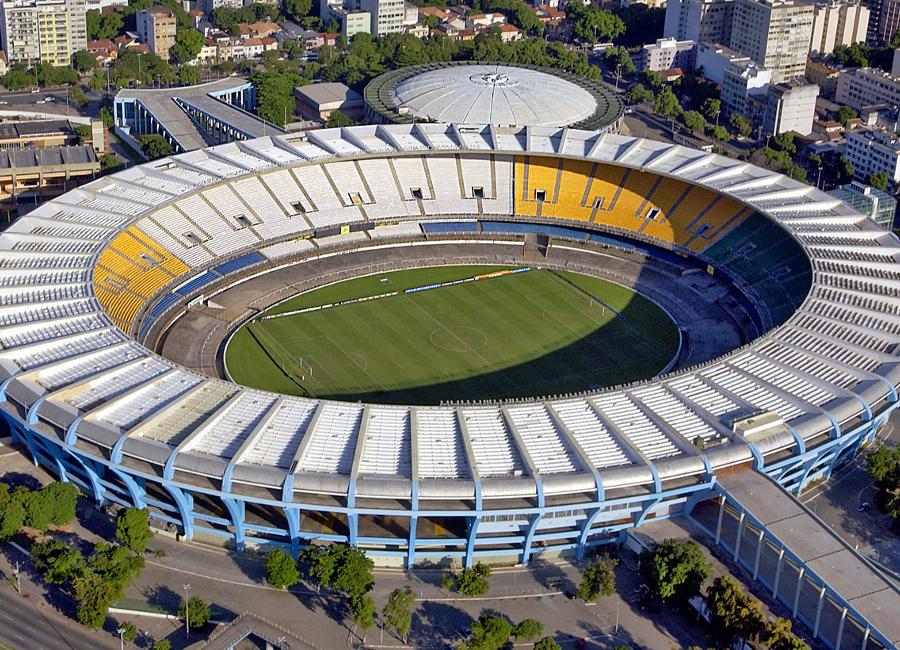 Maracanã voetbalstadion, Rio de Janeiro