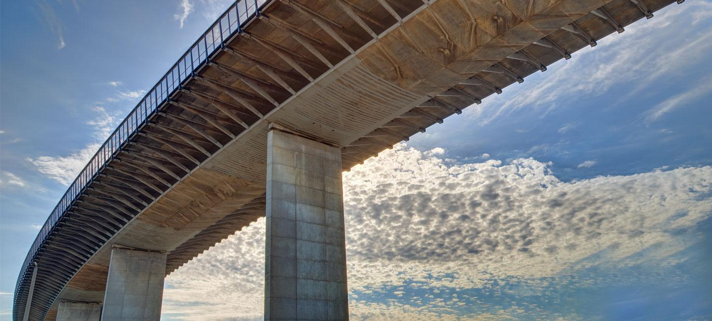 FRP reinforcement - West Gate Bridge, Melbourne