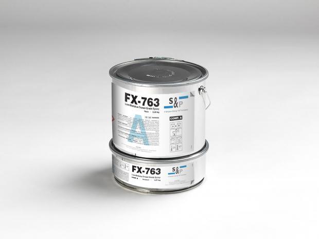 FX-763 - Epoxy à faible module d'élasticité spatulable