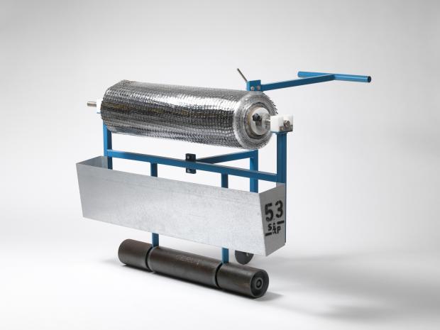 S&P afrolmachine voor asfaltwapening (handmatig)
